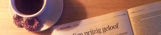 Syp Wynia, essay in het Elsevier kerstnummer 2013