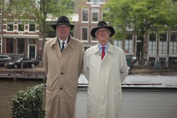 Arend Jan Boekestijn  en Syp Wynia gaan het theater in