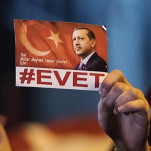 Demonstratie bij Turkse consulaat