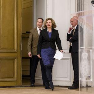 Persconferentie informateur Edith Schippers