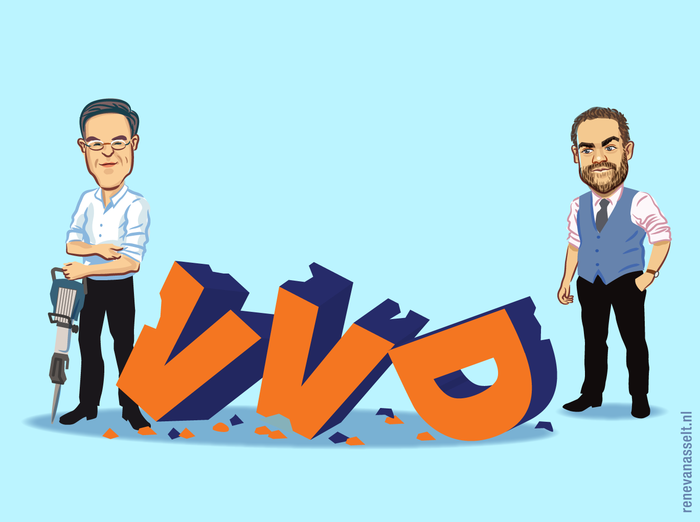 VVD-illustratie