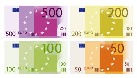 147411030-set-of-banknotes-of-500-200-100-and-50-euros-templates-for-design-isolated-vector-on-white-backgroun