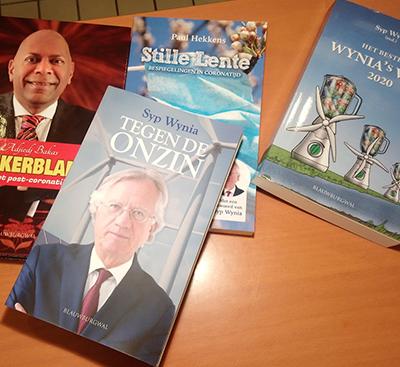 Boeken Blauwburgwal foto