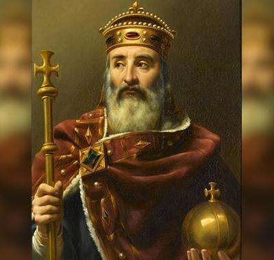 460px-Louis-Félix_Amiel_-_Charlemagne_empereur_d'Occident_(742-814)