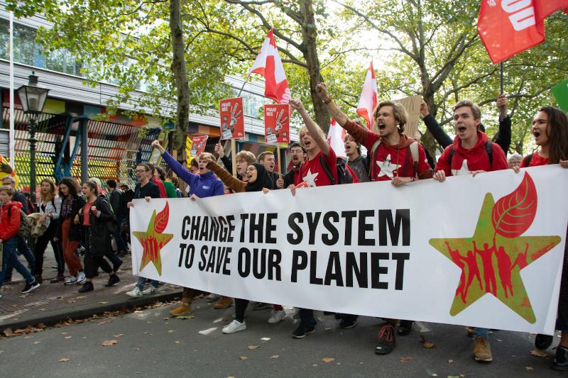Klimaatactivisten