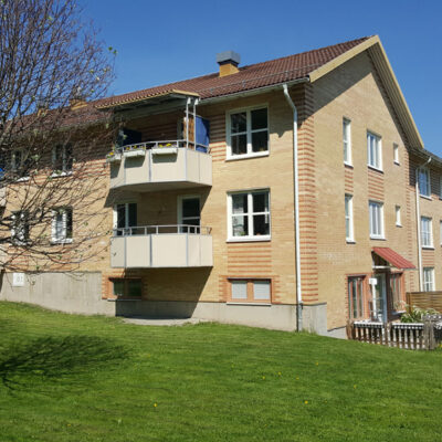 Coöperatiewoningen in Zweden